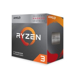 AMD RYZEN 3 3200G 4-Core 3.6 GHz (4.0 GHz Turbo) AM4 65W with Radeon Vega 8 Graphics Desktop Processor