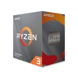 AMD RYZEN 3 3100 4-Core 3.6 GHz (3.9 GHz Turbo) AM4 65W Desktop Processor