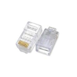 AMP Netconnect RJ45 Cat 5E LAN Connector Unshielded (50 pcs)