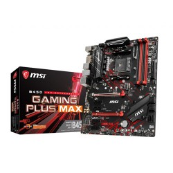 MSI B450 Gaming Plus MAX ATX AM4 AMD Motherboard