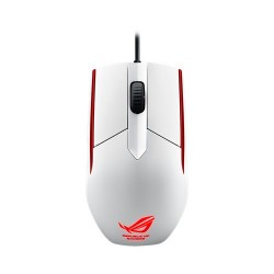 ASUS ROG Sica Ambidextrous Optical Gaming Mouse - White
