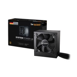 Be Quiet! System Power U9 600W 80 Plus Bronze ATX Power Supply / PSU