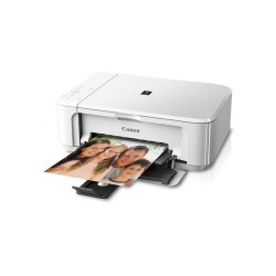 CANON Pixma MG3570 WiFi Printer Inkjet Berwarna Multifungsi - White