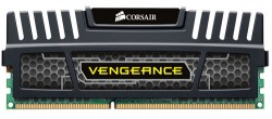 CORSAIR Vengeance Black 8GB (2x4GB) DDR3 1600 MHz (PC3-12800) Desktop Memory RAM [CMZ8GX3M2A1600C9]