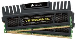 CORSAIR Vengeance 8GB (2x4GB) DDR3 PC3-15000 Desktop Memory [CMZ8GX3M2A1866C9]