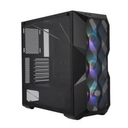 COOLER MASTER MasterBox TD500 Mesh ATX Gaming Casing Komputer - Black