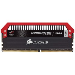 CORSAIR Dominator Platinum ROG Edition 16GB (4x4GB) DDR4 3200 MHz (PC4-25600) Desktop Memory RAM CMD16GX4M4B3200C16