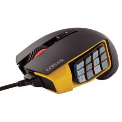 CORSAIR Scimitar RGB Optical MOBA/MMO Gaming Mouse, 12000 DPI CH-9000091-AP