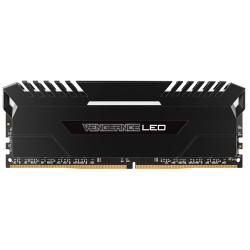 CORSAIR Vengeance LED 16GB (2x8GB) DDR4 3200 MHz (PC4-25600) Desktop Memory RAM [CMU16GX4M2A3200C16] - White LED
