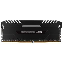 CORSAIR Vengeance LED 16GB (2x8GB) DDR4 2666 MHz (PC4-21300) Desktop Memory RAM [CMU16GX4M2A2666C16] - White LED