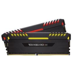 CORSAIR Vengeance RGB 16GB (2x8GB) DDR4 2666 MHz (PC4-21300) Desktop Memory RAM CMR16GX4M2A2666C16