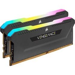 CORSAIR Vengeance RGB Pro SL Black 16GB (2x8GB) DDR4 3200 MHz RAM PC CMH16GX4M2E3200C16