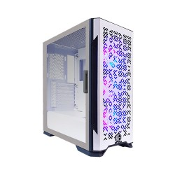 CUBE GAMING Slev ATX Gaming Casing Komputer - White