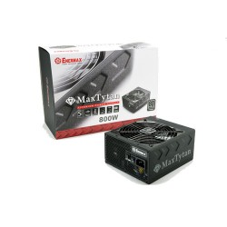 ENERMAX MaxTytan 800W 80 Plus Titanium Full Modular ATX Power Supply / PSU EMT800EWT