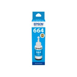 EPSON T6642 Cyan 70ml Original Refill Ink Bottle