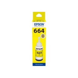 EPSON T6644 Yellow 70ml Original Refill Ink Bottle