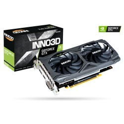 INNO3D GeForce GTX 1650 TWIN X2 OC 4GB GDDR6 Dual Fan VGA Card