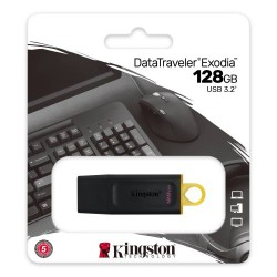 KINGSTON DataTraveler Exodia DTX 128GB USB 3.2 Flash Disk