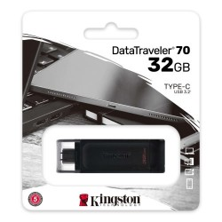 KINGSTON DataTraveler DT70 32GB USB Type-C Flash Disk