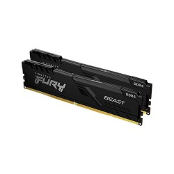 KINGSTON Fury Beast Black 16GB (2x8GB) DDR4 3200 MHz RAM PC KF432C16BBK2/16