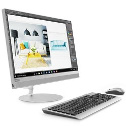 "LENOVO IdeaCentre 520-22IKU All-in-One PC Intel Core i5-7200U 4GB DDR4 1TB Harddisk Radeon R5 530 2GB WiFi 21.5"" LED Non Windows - Gray"