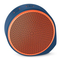 LOGITECH X100 Mobile Wireless Speaker [984-000371] - Blue Orange Grill