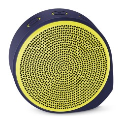 LOGITECH X100 Mobile Wireless Speaker [984-000370] - Purple Yellow Grill