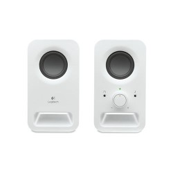 LOGITECH Z150 Multimedia 2.0 Speaker [980-000861] - White