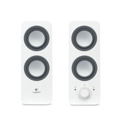 LOGITECH Z200 Multimedia 2.0 Speaker [980-000849] - White
