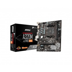 MSI A320M-A Pro MAX Micro ATX AM4 AMD Motherboard