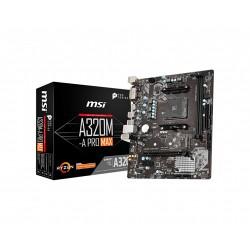 MSI A320M-A Pro MAX Micro ATX AM4 AMD Motherboard