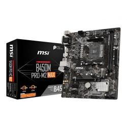 MSI B450M Pro-M2 MAX Micro ATX AM4 AMD Motherboard