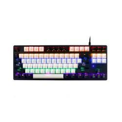 REXUS Legionare MX5.2 TKL Snowy Black Mechanical Gaming Keyboard - Blue Switch