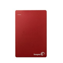 SEAGATE Backup Plus Slim 2TB Portable External Hard Drive [STDR2000303] - Red