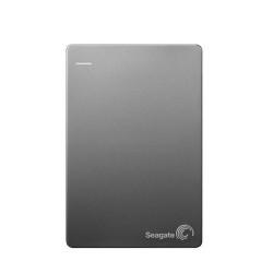 SEAGATE Backup Plus Slim 500GB Portable External Hard Drive [STCD500303] - Silver