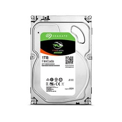 "SEAGATE FireCuda35 Gaming SSHD 1TB 7200 RPM 64MB Cache SATA 6.0Gb/s 3.5"" Internal Desktop Hard Disk Drive ST1000DX002"