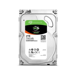 "SEAGATE FireCuda35 Gaming SSHD 2TB 7200 RPM 64MB Cache SATA 6.0Gb/s 3.5"" Internal Desktop Hard Disk Drive ST2000DX002"