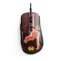 STEELSERIES Rival 310 CS:GO Howl Edition Gaming Mouse, 12000 CPI, RGB, 6 Buttons, TrueMove3