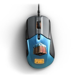STEELSERIES Rival 310 PUBG Edition Gaming Mouse, 12000 CPI, RGB, 6 Buttons, TrueMove3