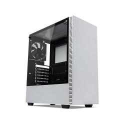 TECWARE Nexus C White Tempered Glass ATX Mid Tower Gaming Casing Komputer