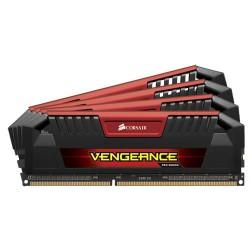 CORSAIR Vengeance Pro Red 32GB (4x8GB) DDR3 2400 MHz (PC3-19200) Desktop Memory RAM [CMY32GX3M4A2400C11R]