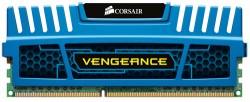 CORSAIR Vengeance Blue 8GB DDR3 PC-12800 Desktop Memory [CMZ8GX3M1A1600C10B]