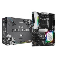 ASROCK B450 Steel Legend ATX AM4 AMD Motherboard