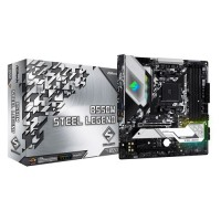 ASROCK B550M Steel Legend Micro ATX AM4 AMD Motherboard