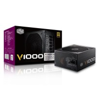 COOLER MASTER V1000 1000W 80 Plus Gold Full Modular ATX Power Supply / PSU RSA00-AFBAG1-XX