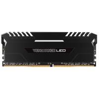 CORSAIR Vengeance LED 16GB (2x8GB) DDR4 3200 MHz (PC4-25600) Desktop Memory RAM [CMU16GX4M2C3200C16] - White LED