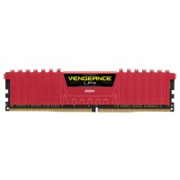 CORSAIR Vengeance LPX Red 16GB (2x8GB) DDR4 3000 MHz (PC4-24000) Desktop Memory RAM CMK16GX4M2B3000C15R