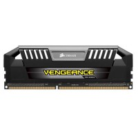 CORSAIR Vengeance Pro Black 8GB (2x4GB) DDR3 2400 MHz (PC3-19200) Desktop Memory RAM [CMY8GX3M2A2400C11]