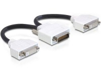 DMS-59 (Male) to 2x DVI-I (Female) Dual Link Converter
