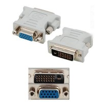 DVI-D (Male) Dual Link to D-Sub (Female) Converter